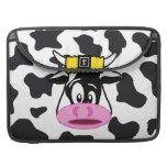 Vaca loca divertida Bull en modelo de la impresión Funda Macbook Pro