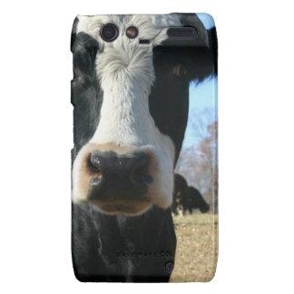 Vaca loca droid RAZR carcasa