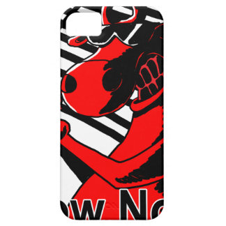 Vaca Noir iPhone 5 Case-Mate Fundas