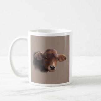 Vaca pelirroja de Brown Taza De Café