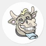 ¡Vaca!  ¡Personalizable! Etiquetas
