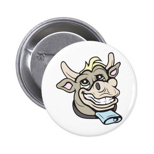 ¡Vaca!  ¡Personalizable! Pins
