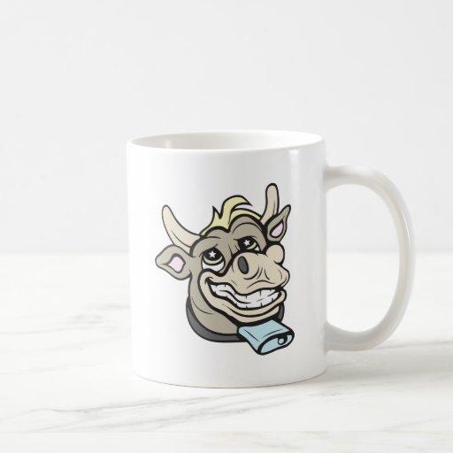 ¡Vaca!  ¡Personalizable! Taza De Café
