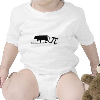 Vaca pi trajes de bebé
