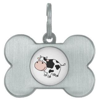 Vaca Placa Mascota