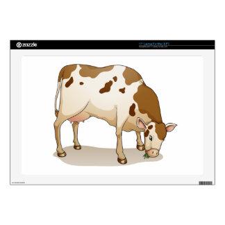 vaca portátil calcomanía