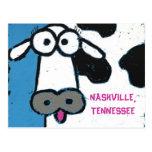 vaca, POSTAL de NASHVILLE, TENNESSEE