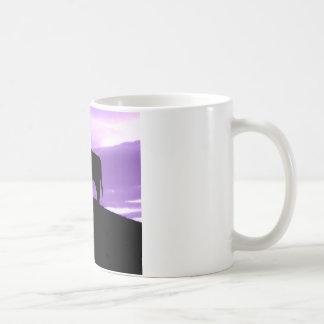 Vaca púrpura taza