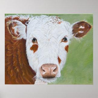 Vaca que pinta 16 x 20 posters