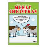 Vaca rabiosa tarjeta
