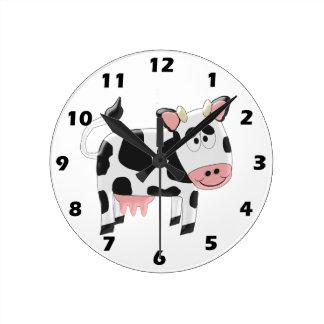 Vaca Reloj Redondo Mediano