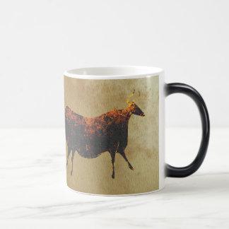 Vaca roja de Lascaux Taza Mágica