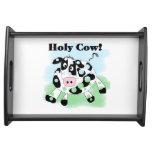 Vaca santa bandejas