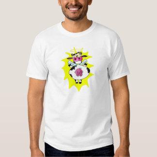 ¡VACA SANTA! camisa (las palabras encendido