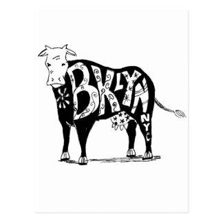 Vaca santa de Brooklyn Postales