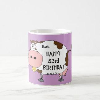 """¡Vaca santa! - Éste es su cumpleaños de """"cualquier Taza"""