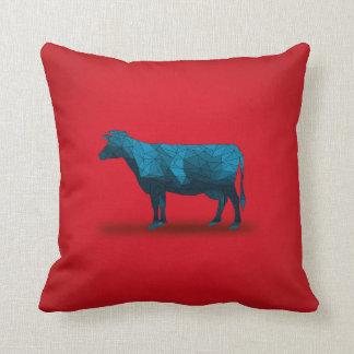 Vaca santa… No.1 - Serie de la granja Cojín
