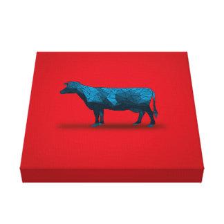 Vaca santa… Serie de la granja No.1 Lienzo Envuelto Para Galerias