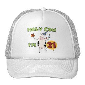 Vaca santa soy 21 camisetas y regalos del cumpleañ gorra