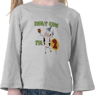 Vaca santa soy 2 camisetas y regalos del cumpleaño