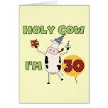 Vaca santa soy 30 camisetas y regalos tarjeton