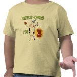 Vaca santa soy 3 camisetas y regalos del cumpleaño