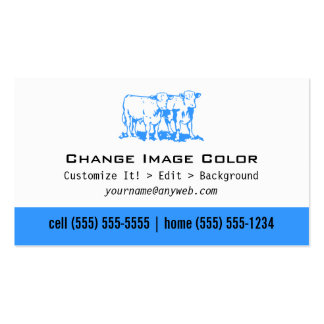 Vaca - tarjeta de visita personal