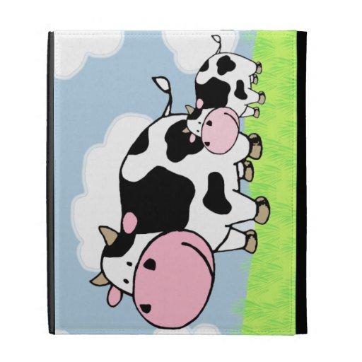 Vaca y bebé