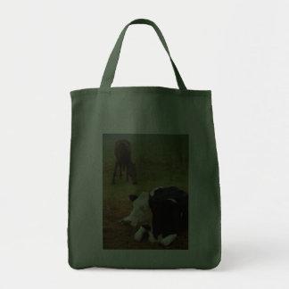 Vaca y caballo bolsa de mano