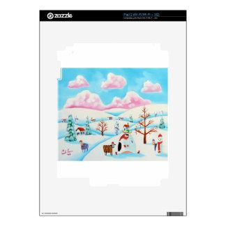 Vaca y ovejas lindas calcomanía para el iPad 2