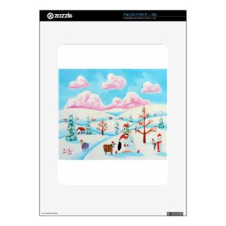 Vaca y ovejas lindas calcomanías para iPad