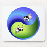 Vaca Yin Yang Alfombrilla De Raton