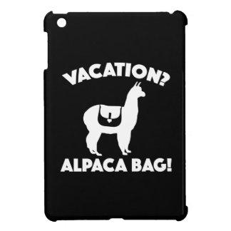 ¿Vacaciones? ¡Bolso de la alpaca!
