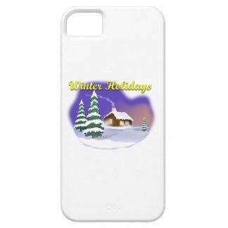 Vacaciones de invierno iPhone 5 carcasas