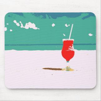 ¡Vacaciones de la playa! Alfombrilla De Ratones