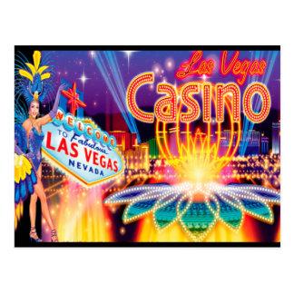 Vacaciones de Las Vegas Tarjetas Postales