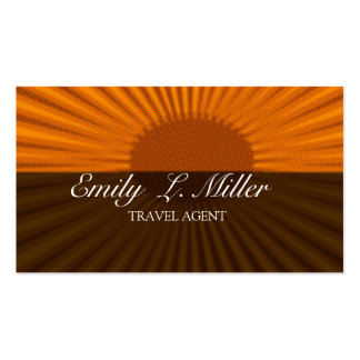 Vacaciones de levantamiento intrépidas del agente tarjetas de visita