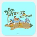 Vacaciones de Mickey Mouse Etiquetas