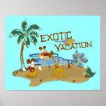 Vacaciones de Mickey Mouse Posters