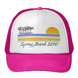 Vacaciones de primavera 2010 gorras