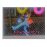 ¡Vacaciones de primavera 2010! Tarjeta Postal