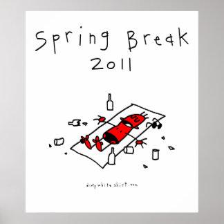 Vacaciones de primavera 2011 poster