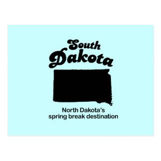 Vacaciones de primavera de Dakota del Sur - de Dak Tarjetas Postales
