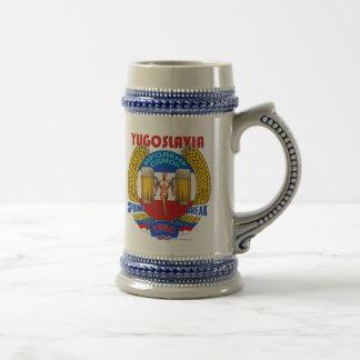 Vacaciones de primavera de Yugoslavia Stein el an  Jarra De Cerveza