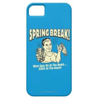Vacaciones de primavera: Estancias en la playa iPhone 5 Funda