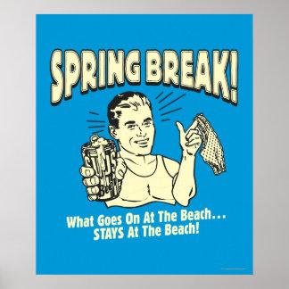 Vacaciones de primavera: Estancias en la playa Impresiones