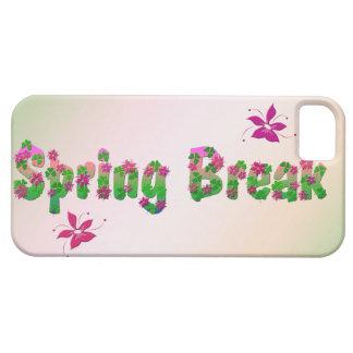 Vacaciones de primavera funda para iPhone 5 barely there