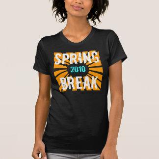 Vacaciones de primavera gráfico de 2010 Sun Camisas