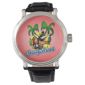 Vacaciones de primavera relojes de mano