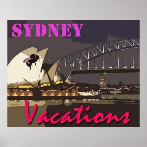 Vacaciones de Sydney Póster